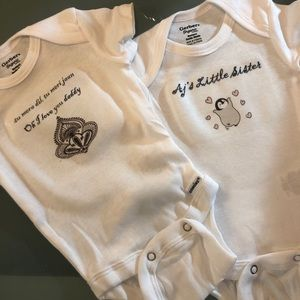 Customized Baby Onsies